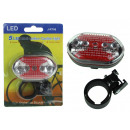 wholesale Bicycles & Accessories: Rear bicycle lamp (j-rt08) 10x14 cm 1 piece
