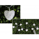 wholesale Food & Beverage: White heart acrylic lamps (10 lamps, 1.5 m, cold