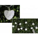 Großhandel Nahrungs- und Genussmittel: Weiße Herzacryllampen (10 Lampen, 1,5 m, ...