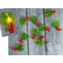 10 luci di palma a led in plastica decorativa