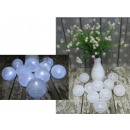 wholesale Lampes: Led cotton ball lights 6 cm 10 piece white spiral