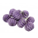 wholesale Illuminants: LED lights paper lights 10 piece - purple