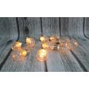 grossiste Maison et habitat: Ampoule LED 10 lumières 8 cm art - blanc chaud