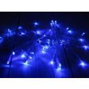 Lampade tradizionali a 40 led con batterie - blu