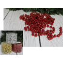 wholesale Jewelry & Watches: Chain of Christmas tree beads (gold, silver, red
