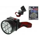 Großhandel Taschenlampen: Scheinwerfer, Kopf verstellbar mit 7 LEDs 12x17