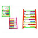 Műanyag abacus szín 18,5x15x12 cm