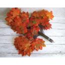 Großhandel Dekoration: Blätter von 3-Traversen 70 cm