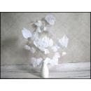nagyker Otthon és dekoráció: A levelek a 3-küllős fehér 66 cm - 1 darab