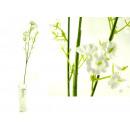 Großhandel Kunstblumen:Weiße Blumen-Halmgut