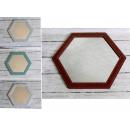 groothandel Spiegels: Spiegel, zeshoekige decoratieve ...