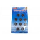 grossiste Magnetique: Aimants 2 cm lot  de 10 pièces en blister