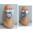 Maschera in cotone riutilizzabile mix nuovo d