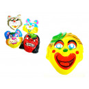 wholesale Toys: Flatbed mask with rubber pattern mix 20x16 cm