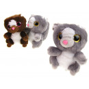 Großhandel Spielwaren: Eichhörnchen Maskottchen großes Netz 13x7 cm, mit