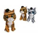 wholesale Dolls &Plush: Mascot large zebra eyelets 15x8cm