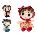wholesale Childrens & Baby Clothing: Mascot girl doll in dress and hat 21x