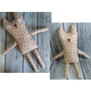 Großhandel Spielwaren: Maskottchen Katze handgefertigt 60 cm