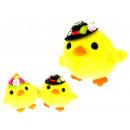 Mascot csirke serpenyő vagy hölgy medál 8x7,5 cm