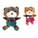 grossiste Jouets: Mascotte d'ours en peluche 21x11 cm