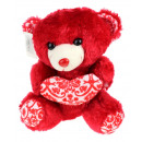 Mascotte orsacchiotto San Valentino con cuore 27 c