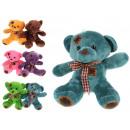 Großhandel Spielwaren: Teddybär Maskottchen mit einem Patch 18x17 cm
