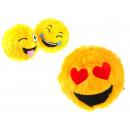 mayorista Accesorios para animales de compañía: Mascot bola de la piel Smiley amarillo 20 cm
