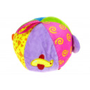 Großhandel Heimtierbedarf: Mascot Regenbogenball mit Griffen 15 cm ...