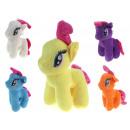 Mascotte, cavallo giocattolo morbido con una crini