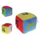 Mascot, puha játék kocka 11 cm