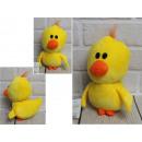 Mascotte, pollo peluche 15 cm