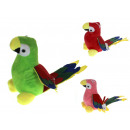 Mascotte, peluche pappagallo 19,5x30 cm (mix di co