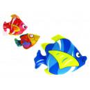 Großhandel Puppen & Plüsch: Maskottchen Fisch mit einem Saugnapf 25x18 cm