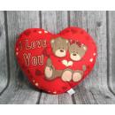 wholesale Dolls &Plush: Plush heart  mascot, Pillow and love you teddy bear