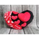 mayorista Cojines y mantas: Mascota del corazón de Cojín , Cojín rojo y negro