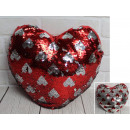 Mascot heart overturned sequins in hearts 36 c