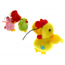 wholesale Toys: Mascotka chicken  hanger 7x7 cm - 1 piece
