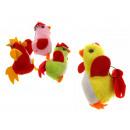 mascotte di pollo ciondolo 8x5 cm - 1 pezzo