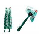 wholesale Shaving & Hair Removal: Three-blade green razors - 1 piece