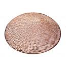 Mat kerek asztal szőnyeg 37 cm - rózsa arany - 1