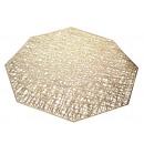 Mat 37x37 cm-es nyolcszögletű asztal szőnyeg - ara