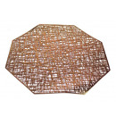 Mat 37x37 cm-es nyolcszögletű asztal szőnyeg - rég