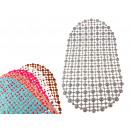 Tappetino da bagno antiscivolo, puntini colorati 6