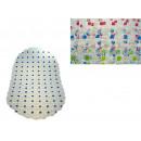 nagyker Fürdő- és frottír termékek: Fürdőszoba szőnyeg átlátszó ovális foltokkal