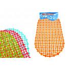 nagyker Fürdő- és frottír termékek: Fürdőszoba szőnyeg foltokkal, ovális 60x35 c