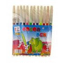 wholesale Gifts & Stationery: Highlighters, markers, markers 12.8 cm 12 colors