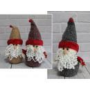 Natale festivo Babbo Natale in una st di lana