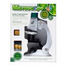 Microscopio + accessori in scatola 24x19x9 cm