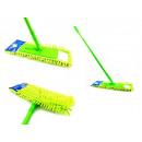 mayorista Limpieza: mopa plana de microfibra con borlas + stick
