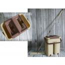 groothandel Reinigingsproducten:Platte mop + emmer
